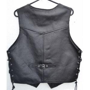 Buckle Leather Waistcoats