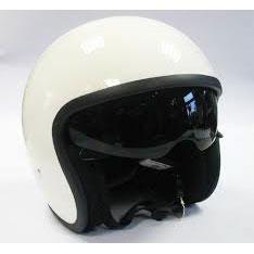 viper Open face Helmet white